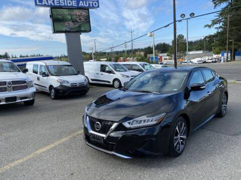 2020 Nissan Maxima for sale at Lakeside Auto in Lynnwood WA