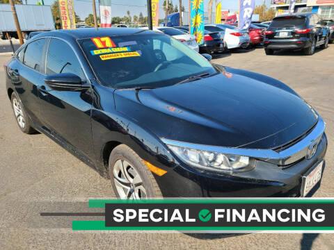 2017 Honda Civic for sale at Super Cars Sales Inc #1 - Super Auto Sales Inc #2 in Modesto CA