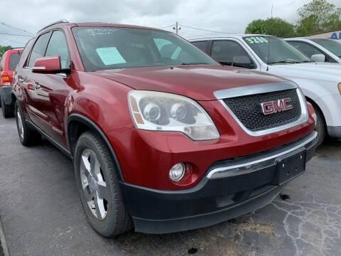2007 GMC Acadia for sale at American Motors Inc. - Cahokia in Cahokia IL