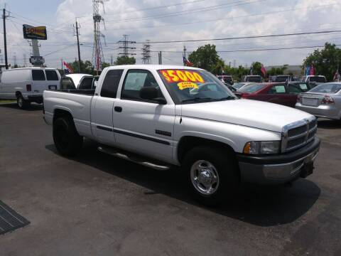 2001 Dodge Ram Pickup 2500 for sale at Texas 1 Auto Finance in Kemah TX