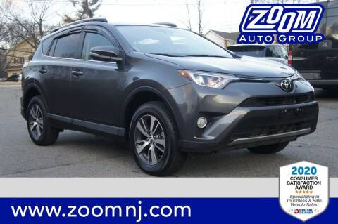 2018 Toyota RAV4 for sale at Zoom Auto Group in Parsippany NJ