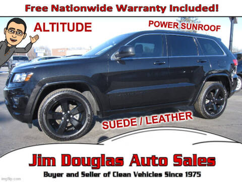 2014 Jeep Grand Cherokee for sale at Jim Douglas Auto Sales in Pontiac MI