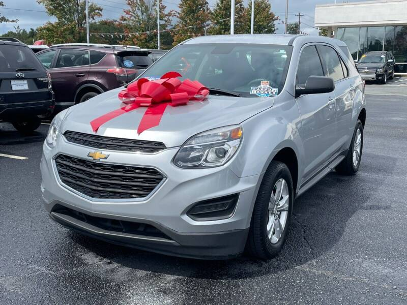 2017 Chevrolet Equinox for sale at Charlotte Auto Group, Inc in Monroe NC