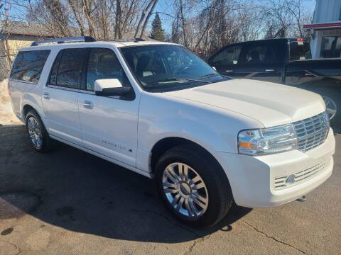 2012 Lincoln Navigator L for sale at Van Kalker Motors in Grand Rapids MI