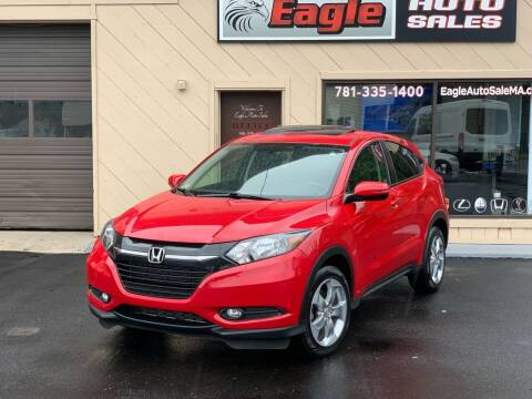 2017 Honda HR-V for sale at Eagle Auto Sales LLC in Holbrook MA