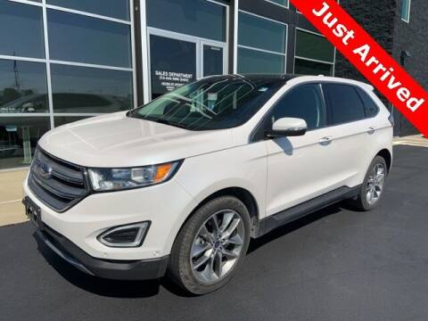 2017 Ford Edge for sale at Autohaus Group of St. Louis MO - 3015 South Hanley Road Lot in Saint Louis MO