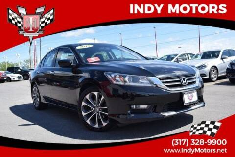2015 Honda Accord for sale at Indy Motors Inc in Indianapolis IN