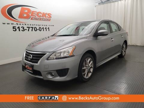2013 Nissan Sentra for sale at Becks Auto Group in Mason OH