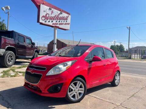 2014 Chevrolet Spark for sale at Southwest Car Sales in Oklahoma City OK