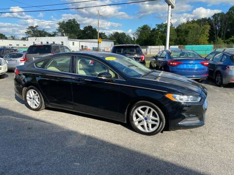 2016 Ford Fusion for sale at MetroWest Auto Sales in Worcester MA