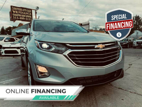 2019 Chevrolet Equinox for sale at 3 Brothers Auto Sales Inc in Detroit MI