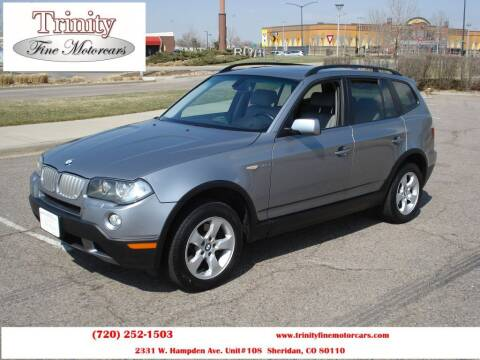 2007 BMW X3 for sale at TRINITY FINE MOTORCARS in Sheridan CO