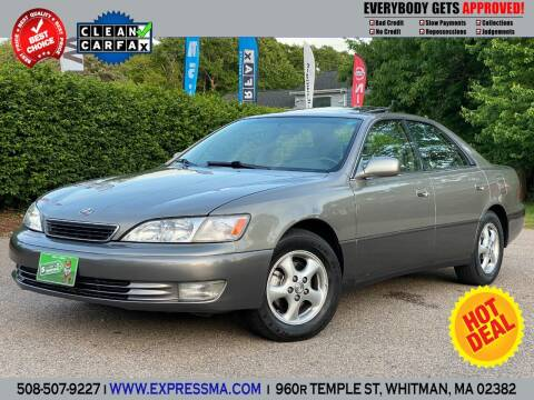 1998 Lexus ES 300 for sale at Auto Sales Express in Whitman MA