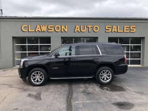 2015 GMC Yukon for sale at Clawson Auto Sales in Clawson MI