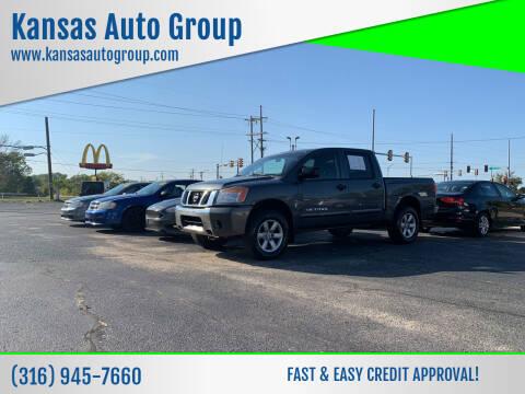 2011 Nissan Titan for sale at Kansas Auto Group in Wichita KS