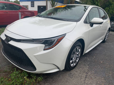 2020 Toyota Corolla for sale at Bargain Auto Sales in West Palm Beach FL