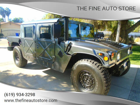1999 HUMMER H1 for sale at The Fine Auto Store in Imperial Beach CA