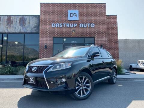 2015 Lexus RX 350 for sale at Dastrup Auto in Lindon UT