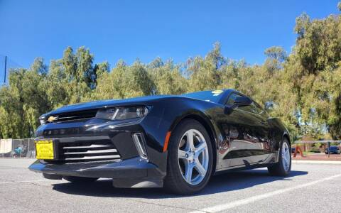 2018 Chevrolet Camaro for sale at ALL CREDIT AUTO SALES in San Jose CA