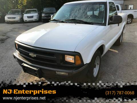 1997 Chevrolet S-10 for sale at NJ Enterprises in Indianapolis IN