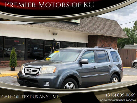 2010 Honda Pilot for sale at Premier Motors of KC in Kansas City MO