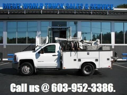 2017 Chevrolet Silverado 3500HD CC for sale at Diesel World Truck Sales in Plaistow NH