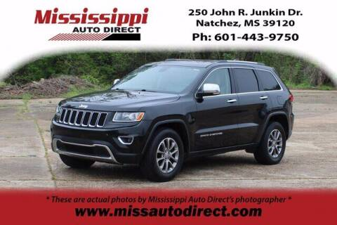 2015 Jeep Grand Cherokee for sale at Auto Group South - Mississippi Auto Direct in Natchez MS
