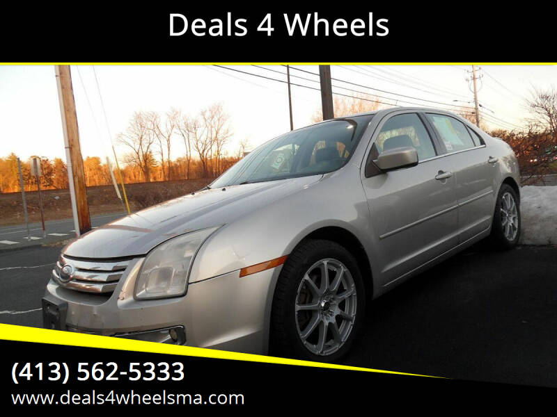 2007 Ford Fusion for sale at Deals 4 Wheels in Westfield MA