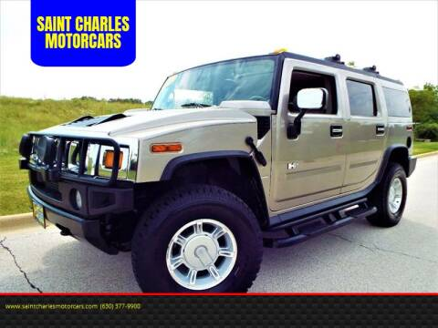 2003 HUMMER H2 for sale at SAINT CHARLES MOTORCARS in Saint Charles IL