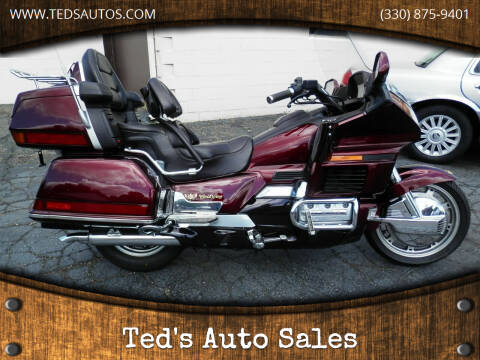 1989 Honda Goldwing for sale at Ted's Auto Sales in Louisville OH