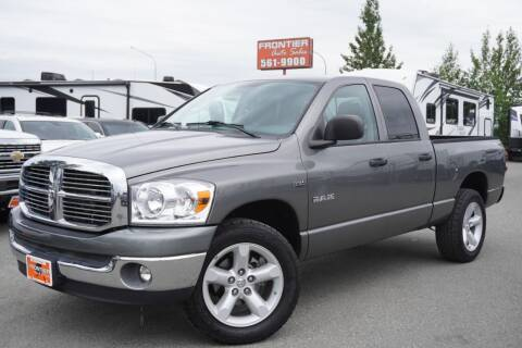 2008 Dodge Ram Pickup 1500 for sale at Frontier Auto & RV Sales in Anchorage AK