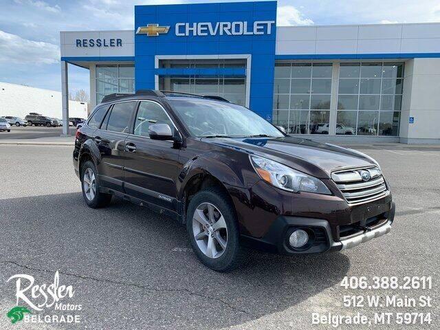 2013 Subaru Outback for sale at Danhof Motors in Manhattan MT