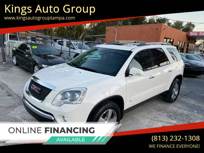 2010 GMC Acadia for sale at Kings Auto Group in Tampa FL