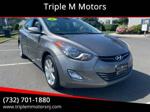 2011 Hyundai Elantra for sale at Triple M Motors in Point Pleasant NJ