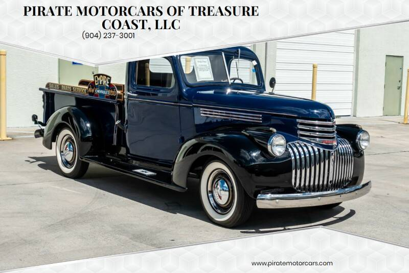 1941 Chevrolet 3100 for sale at Pirate Motorcars Of Treasure Coast, LLC in Stuart FL