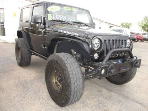 2015 Jeep Wrangler for sale at Advantage Auto Brokers Inc in Greeley CO