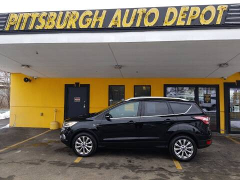 2017 Ford Escape for sale at Pittsburgh Auto Depot in Pittsburgh PA