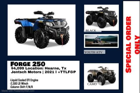 2021 HISUN FORGE 250 for sale at JENTSCH MOTORS in Hearne TX