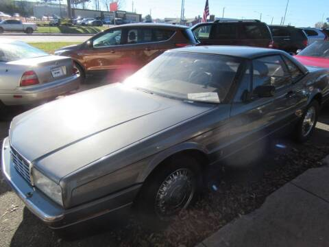 1989 Cadillac Allante for sale at Dallas Auto Mart in Dallas GA