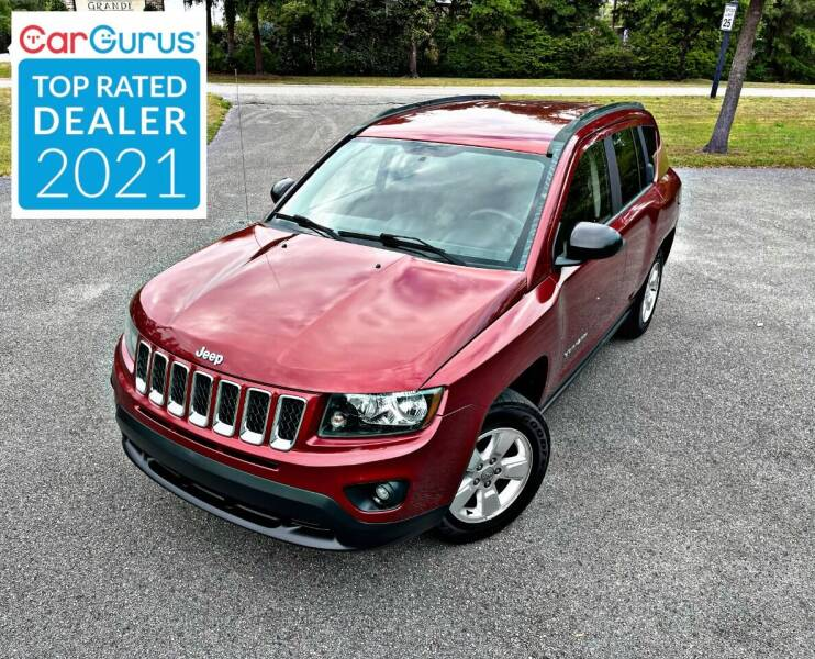 2014 Jeep Compass for sale at Brothers Auto Sales of Conway in Conway SC