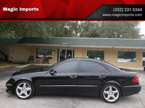 2009 Mercedes-Benz E-Class for sale at Magic Imports in Melrose FL