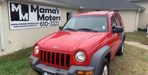 2002 Jeep Liberty for sale at Mama's Motors in Greer SC