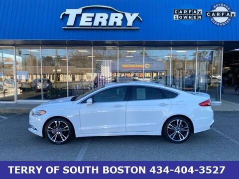2017 Ford Fusion for sale at Terry of South Boston in South Boston VA