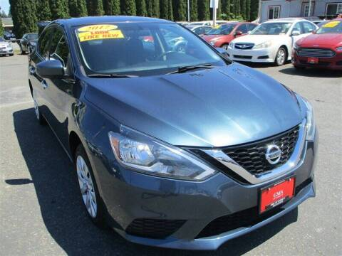 2017 Nissan Sentra for sale at GMA Of Everett in Everett WA