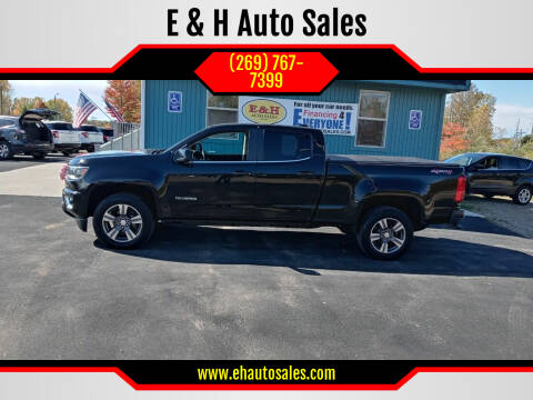 2016 Chevrolet Colorado for sale at E & H Auto Sales in South Haven MI