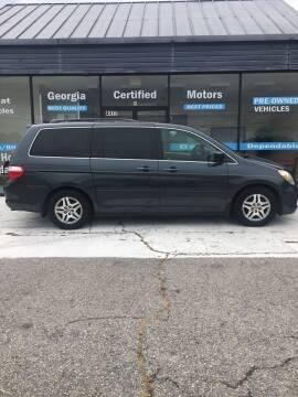 2005 Honda Odyssey for sale at Georgia Certified Motors in Stockbridge GA