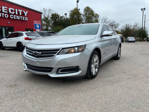 2015 Chevrolet Impala for sale at Space City Auto Center in Houston TX