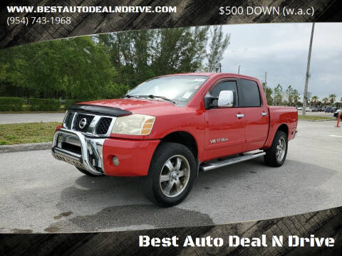 2005 Nissan Titan for sale at Best Auto Deal N Drive in Hollywood FL