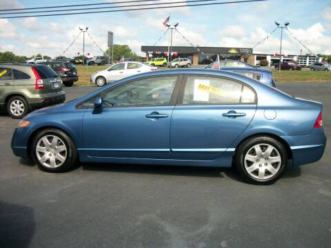 2008 Honda Civic for sale at Lentz's Auto Sales in Albemarle NC