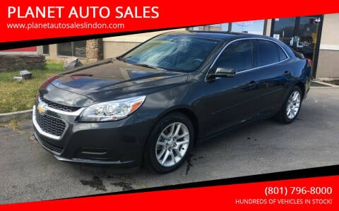2015 Chevrolet Malibu for sale at PLANET AUTO SALES in Lindon UT